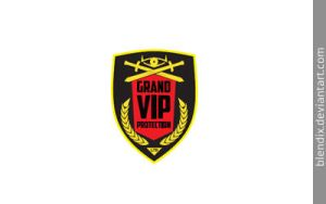 Grand VIP Protection LOGO by blendix
