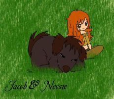 .:Jacob n Nessie:. by 221bee