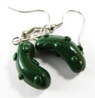 Pickle Earrings by SarahRose