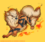 Arcanine by SeaGerdy