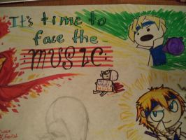 It's Time to Face the Music by Band-Geek24
