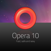 Opera 10 Icon Replacement by kitten-boy