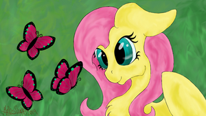 Fluttershy by MythsFlight