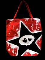 .painted purse. by oO-violetta-Oo