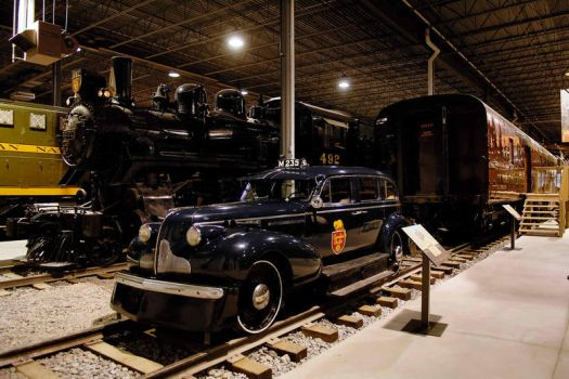 Canadian Pacific M235  1939 Buick inspection car by Nikonoclaste