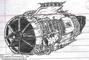 Presenting the Jet Engine. by GideonDoodles