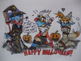 Happy Halloween by Levvvar
