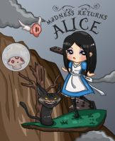 Alice: Madness Returns Fanart by skiepii