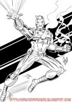 Iron Man by violencejack666