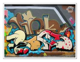 Graffiti XV by moonstomp