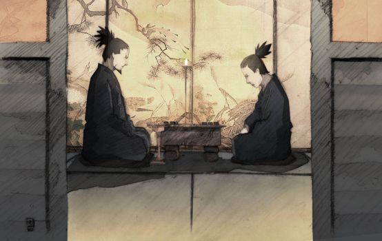 Shikamaru plays Shogi_ by ERS93