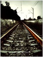 Railways to nothingness by WojciechDziadosz