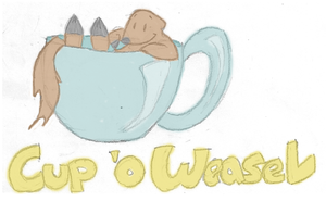 Cup 'O Weasel by luckydraik