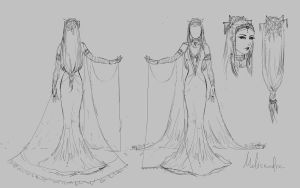 Melisandre concept by ThelemaTherion