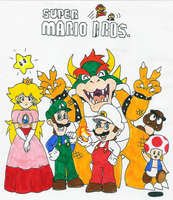 Mario group shot by Hyliaman