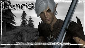 Fenris Wallpaper by thesnowtigress