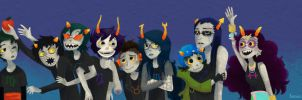 Homestuck by leesers