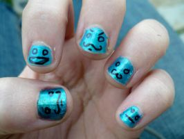 Nail Art 2 by EmilyAtTheDisco