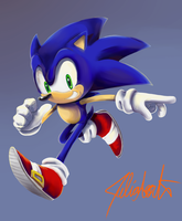 'Sonic the Hedgehog' - 2012 Remake by Dody-Inferno