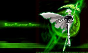 Danny Phantom:Rebirth Wallpapr by slifertheskydragon