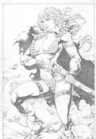 Red Sonja by miltonwiller