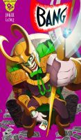 the joker x loki : amalgam by m7781