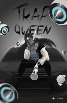 Trap Queen (Black and White Varient) by Wildy71090