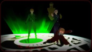 [MMD x Hetalia] .:The Magic Trio:. by VampireAnime7723
