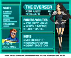 OC: The Eversor by iloveYOUxYO