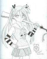 Mostly Casual Asuna by Tabris-The-17th