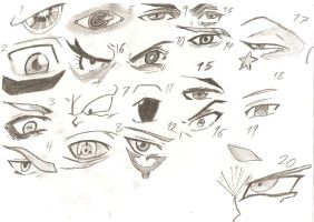 20 Eyes - Antagonists by AustralAnima