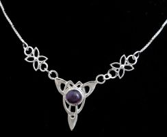 Amethyst Celtic Necklace by camias
