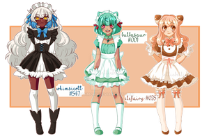 .:Poke-Adopts: PokeMeido 01 (Closed !!) by thejellyfishprincess