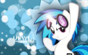 Vinyl Scratch Wallpaper by ImLaddi