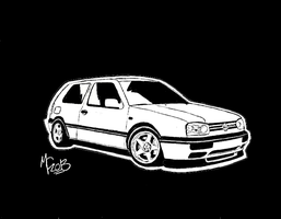 Volkswagen MK III Golf GTI by CrashyBandicoot