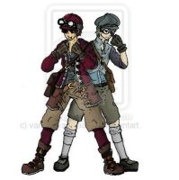 steampunk-characters-colour.1 by vanna6yaoiheaven