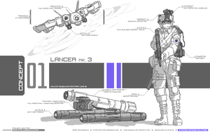Project Shutter: U.S. Army Lancer by KajiTetsushi