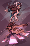Rogue x Gambit by BatArchaic