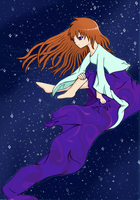 Sitting in the Stars by CutenessMaximized