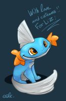 Mudkip by Eolkh