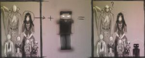 How appeared Enderman by Ristorr