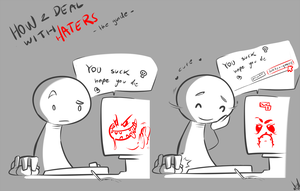 How to deal with haters by atryl