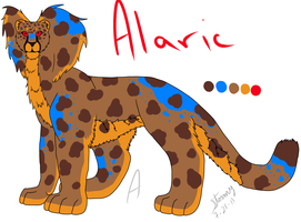 Alaric Ref by Darkblaze3