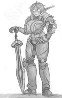 Lundra New armor by MitaTell