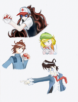 Pokemon designs by Defender-of-Chaos