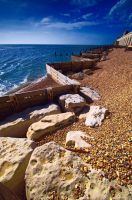 Old Sea wall by plangdon2