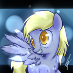 Derpy Hooves - Bubbles by Mister-Markers