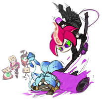 Splatoon: Road rolla da. by Veonara