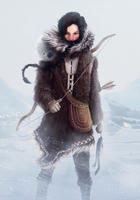 Arctic warrior by The-Ill-King