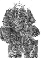 Primarch-Roboute Guilliman by DeVmarine